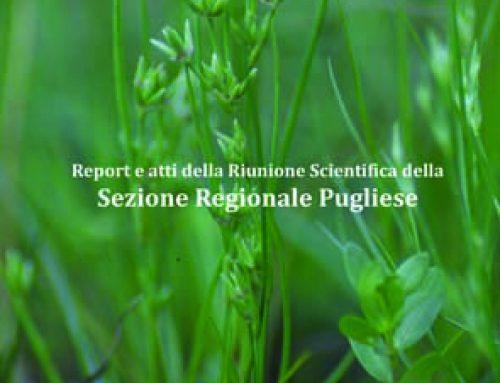 Riunione scientifica della Sezione Regionale Pugliese (Lecce, 26 gennaio 2018):  Atti